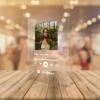Kép 1/4 - Spotify plexi zene tábla A4 méret