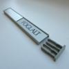 Kép 3/5 - Szabad-foglalt tábla - 200x31 mm - alu-ezüst-fekete2