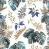 Kép 2/3 - Öntapadós tapéta - trópusi levél minta