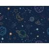Kép 2/2 - Öntapadós tapéta - bolygók és csillagképek - 60x300 cm