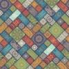 Kép 2/3 - Öntapadós tapéta - színes mozaik minta