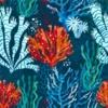Kép 2/3 - Öntapadós tapéta korall minta