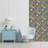 Kép 1/3 - Öntapadós tapéta - színes mozaik mintás