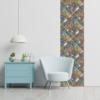 Kép 3/3 - Öntapadós tapéta - színes mozaik mintás - 60x300 cm