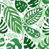 Kép 2/3 - Öntapadós tapéta filodenron minta