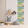 Kép 3/3 - Öntapadós tapéta - színes utcákkal - 60x300 cm