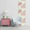 Kép 3/3 - Öntapadós tapéta - rózsaszín akvarell virág mintás - 60x300 cm