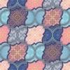 Kép 2/3 - Öntapadós tapéta absztrakt színes motívumok minta