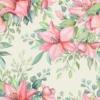 Kép 2/3 - Öntapadós tapéta - rózsaszín akvarell virág minta