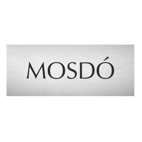 Mosdó - alumínium ajtótábla - fóliázott