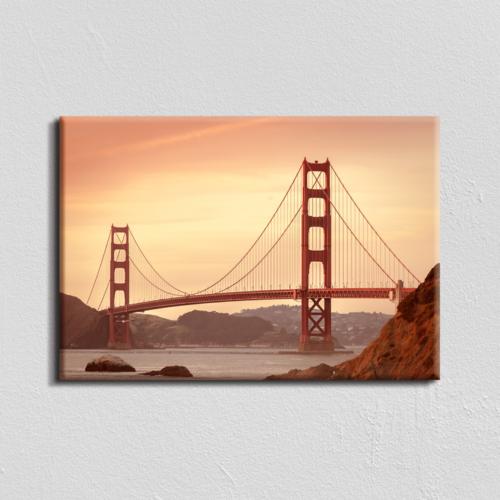Vászonkép - Golden Gate híd - 40x60 cm